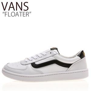 バンズ スニーカー VANS メンズ レディース FLOATER フローター WHITE BLACK ホワイト ブラック V4410 シューズ|nuna-ys