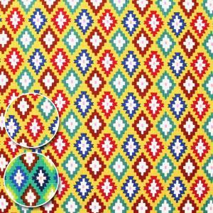 オルテガ サザンクロス生地(ドビー生地) ( ハンドメイド インテリア カバー エプロン 和柄 甚平 浴衣 民芸 がま口 ) 50cm単位