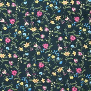 ≪会員5%引≫Classic Flower コーデュロイ生地 ( ハンドメイド カバー バッグ 秋冬 ワンピース バッグ スカート   ) 50cm単位|nuno1000netshop