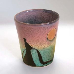 フリーカップ『万葉の詠姫』|nunobikiyaki