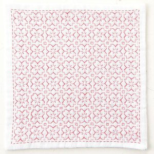 刺し子キット ハンカチiine/イーネ 桜の花|nunogatari
