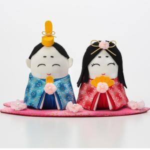 雛祭り ぬいぐるみ キット・お花のひなまつり|nunogatari