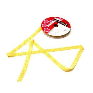 和りぼん1.5cm幅・鹿の子(黄色)|nunogatari