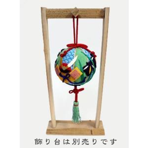 限定販売/ちりめん手芸キット・吊るし手毬「5月・菖蒲と兜」 nunogatari