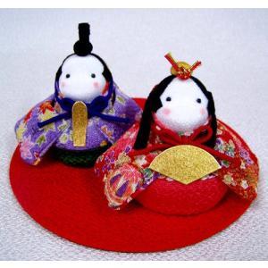 ●京のちりめん手芸工房から届いた、雛人形のちりめん手芸キットです。  お手玉サイズの雛人形は愛らしく...