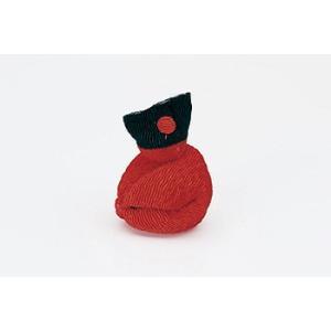 ちりめんつるし飾りパーツ(完成品)・さるっ子(赤)|nunogatari