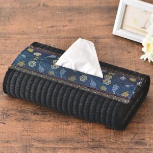 たたみシートで作る小物キット・ティッシュカバー(黒)|nunogatari