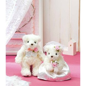 キット・天使のホワイトベア(ピンク)|nunogatari