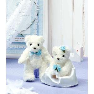 キット・天使のホワイトベア(ブルー)|nunogatari