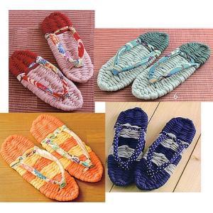 ■出荷目安:2〜7日後  ●手づくりのぬくもりが感じられる布ぞうりは、足の裏を程よく刺激するので健康...