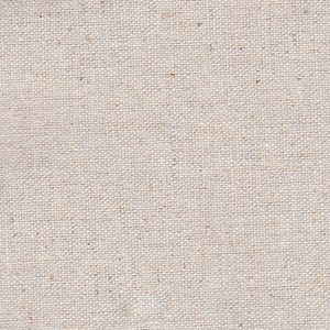綿麻キャンバス無地/生成(きなり) 5色 1m単位 ポイント/アウトレット価格