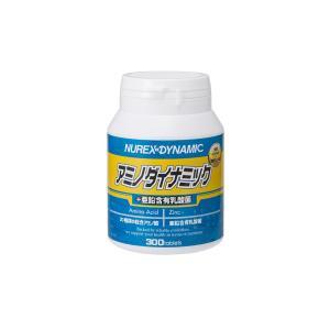 アミノダイナミック+亜鉛含有乳酸菌 300粒|nurex