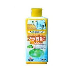 アサヒペン  人と環境にやさしい万能床用樹脂ワックス   500mL   |nurimaru