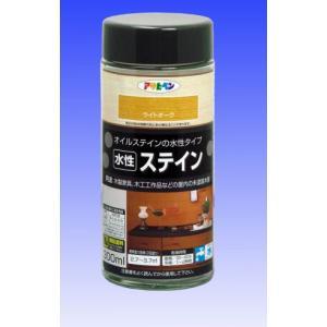 アサヒペン  水性ステイン  300mL  |nurimaru