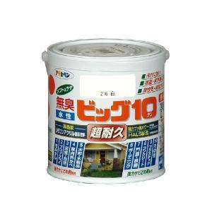 アサヒペン  無臭水性 ビッグ10多用途ソフトなツヤ   0.7L (45色) |nurimaru