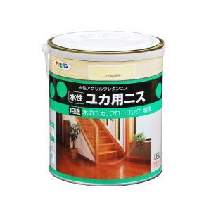 アサヒペン  水性 ユカ用ニス 1.6L  |nurimaru