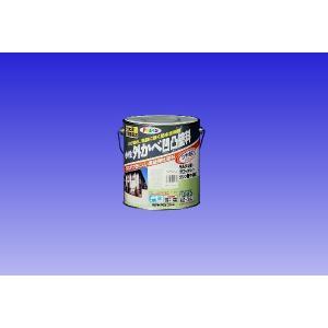 アサヒペン  水性外かべ凹凸塗料 3L|nurimaru