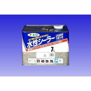 アサヒペン  水性シーラー (下塗り用アクリル塗料) 7L |nurimaru