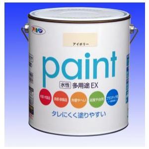 アサヒペン  水性 多用途EX (水性アクリル樹脂塗料)  3L  |nurimaru