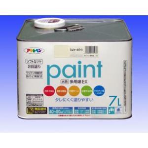 アサヒペン  水性 多用途EX (水性アクリル樹脂塗料)  7L  |nurimaru