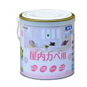 アサヒペン NEW水性インテリアカラー(屋内カベ用) 0.7L|nurimaru