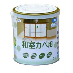 アサヒペン NEW水性インテリアカラー(和室カベ用) 0.7L|nurimaru