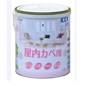 アサヒペン NEW水性インテリアカラー(屋内カベ用)  1.6L|nurimaru