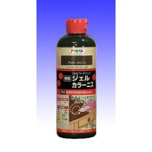 アサヒペン  ジェル カラーニス 【1液型ウレタン樹脂塗料】   270mL  |nurimaru
