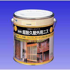 アサヒペン  (油性)超耐久 屋外用ニス   0.7L  |nurimaru