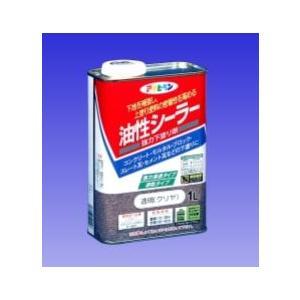 アサヒペン  油性シーラー(1回塗り 下塗り用アクリル樹脂塗料) 1L  |nurimaru