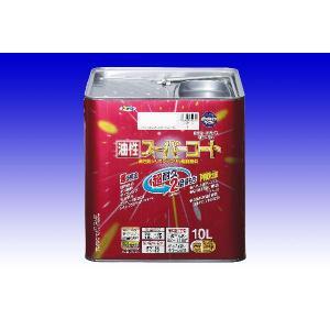 アサヒペン  (油性)スーパーコート  10L  20色|nurimaru