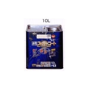 アサヒペン  (水性)スーパーコート  10L  (ローラー付き)  20色|nurimaru