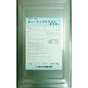 ビュートップシリコン クリヤ (艶消し)  16Kg  − 菊水化学工業 −|nurimaru