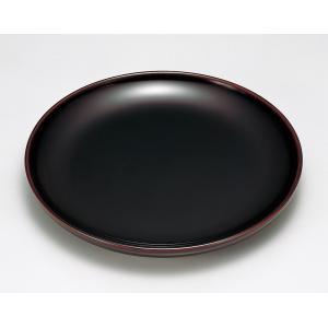 盛皿 和食器 盛器 くり木地 丸皿 越前漆器 越前塗り 木製 溜漆塗り うるし塗り 1枚 ギフト 内...