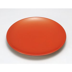 盛皿 和食器 盛器 丸型 皿 越前漆器 越前塗り 木合 朱漆塗り うるし塗り 1枚 ギフト 内祝い ...