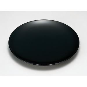 盛皿 和食器 盛器 丸型 皿 越前漆器 越前塗り 木合 黒漆塗り うるし塗り 1枚 ギフト 内祝い ...
