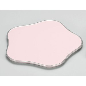 盛皿 和食器 盛器 梅型 皿 越前漆器 越前塗り 木合 ピンク 1枚 ギフト 内祝い 成人内祝い 結...