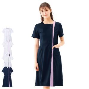 スクエアカラーワンピース 医療 ナース 看護 女性 nursery-y