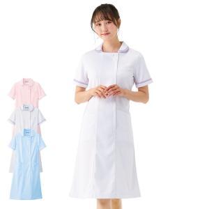 医療 ナース 看護 白衣 女性 マーカーラインワンピース S M L LL 3L|nursery-y