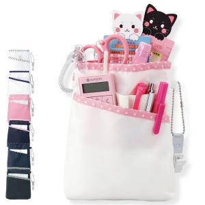 ナース ペンケース バッグ 看護 医療 介護 収納 小物がたっぷり入る柔らかペンケース|nursery-y