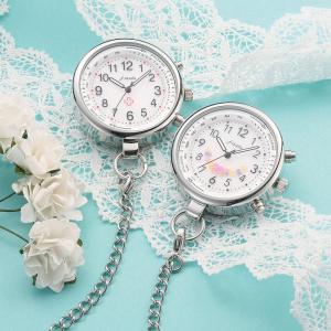 ナース 小物 グッズ 看護 医療 ウォッチ 時計 電波式ナースウォッチ