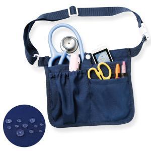 看護師 ナースグッズ 医療用 腰にフィットする撥水ウエストポーチ|nursery-y