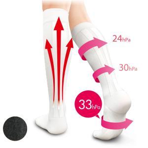 医療用 白  ソックス 看護 介護 病院 靴下 ナース 女性リンパ促進テーピング着圧ソックス|nursery-y
