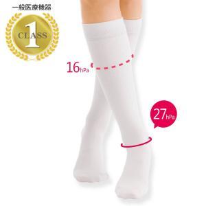 医療用 白  ソックス 看護 介護 病院 靴下 ナース 女性 一般医療用靴下 うるうる着圧ソックス|nursery-y