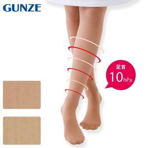 医療用 白  ソックス 看護 介護 病院 靴下 ナース 女性 グンゼ あったか保湿ストッキング(着圧ゾッキ)|nursery-y
