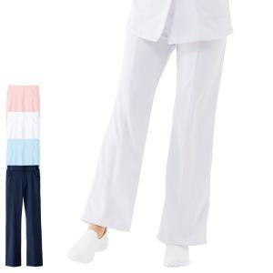 白衣 女性 ナースウェア ハイウェスト美脚パンツ|nursery-y