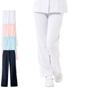 ずっと使えるシンプルデザイン! シルエット重視の定番ストレートパンツ。  ナースリーの大人気パンツの...
