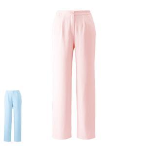 白衣 女性 ナースウェア ゆったり 美脚ストレートパンツ 7L〜10L|nursery-y