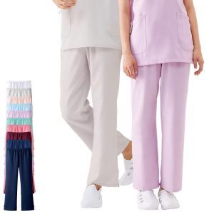白衣 女性 男性 男女兼用 医療用 ドクター 医師 看護師 病院 エアリータッチスクラブパンツ|nursery-y