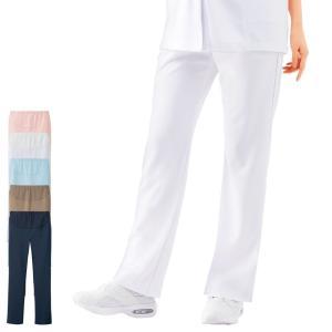 ナース 白衣 パンツ 医療 看護 介護 女性 マタニティ アクティブパンツ|nursery-y